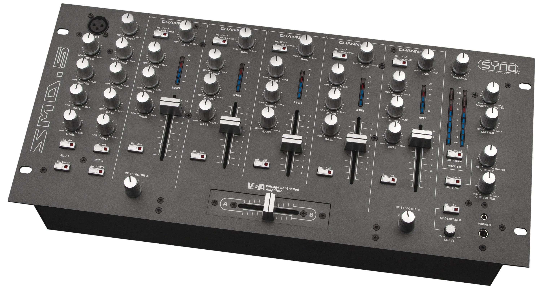 Synq smd 5 mischpulte dj - Table de mixage vinyle ...