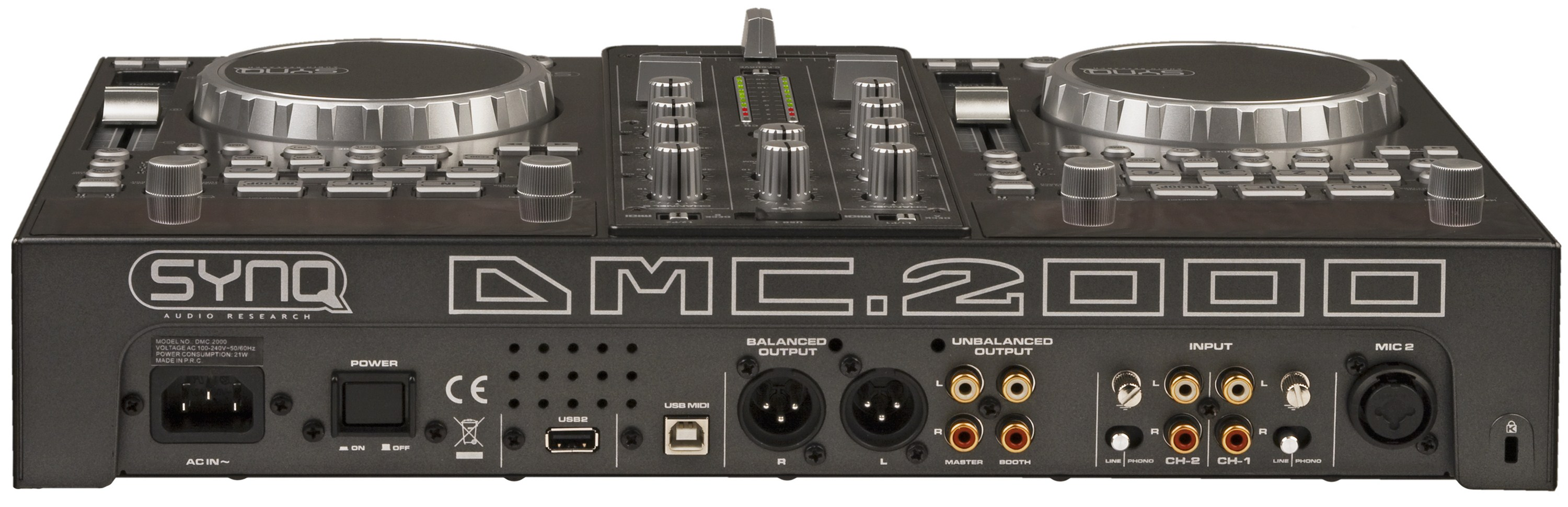 SYNQ - DMC-2000 - MP-3 & USB players