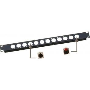 RP 1U/XLR - Rackpanel XLR (D-size)