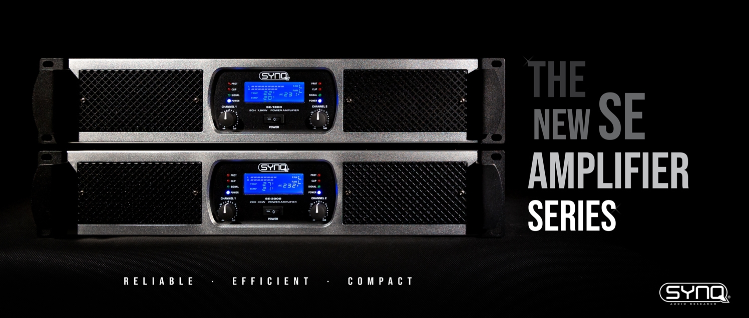 SYNQ : New SE amplifier series
