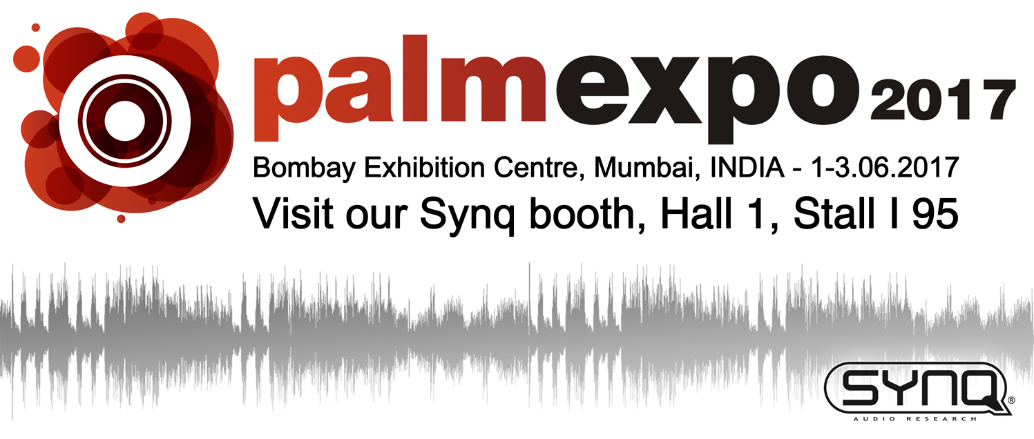 Visit our Synq booth at Palm Exhibition 2017